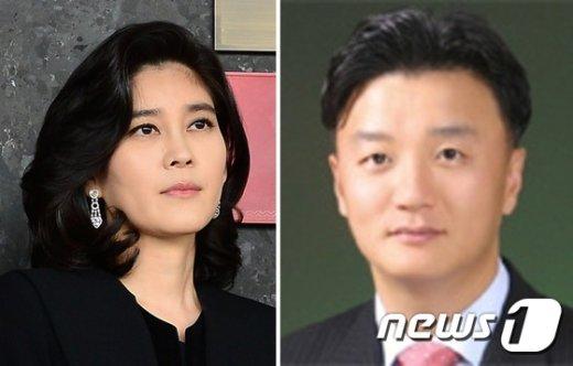 이부진 호텔신라 사장(왼쪽)과 임우재 삼성전기 상임고문 (오른쪽). /뉴스1
