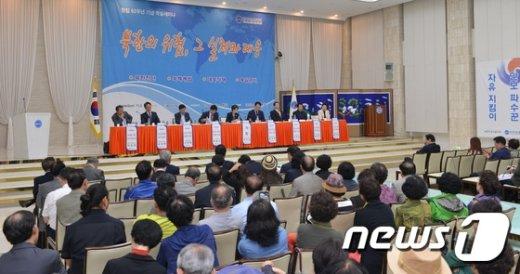 [사진]한국자유총연맹, '북한의 위협, 그 실체와 대응' 세미나 진행