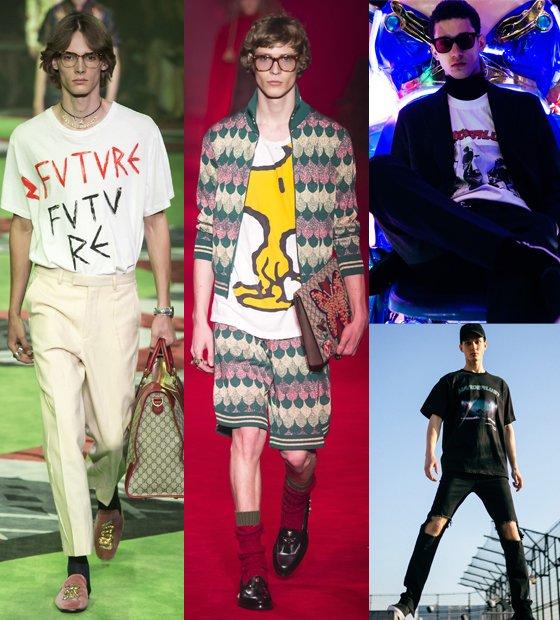/사진=구찌 2016 Fall Menswear, 구찌 2017 Spring Menswear, 앤더슨벨 2016 S/S 컬렉션