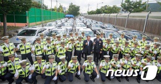 [사진]전국 고속도로 암행순찰차 발대식 개최