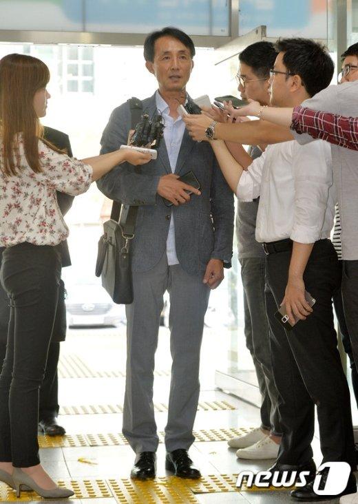 """[사진]장신중 전 강릉경찰서장 """"법은 누구에게나 평등"""""""
