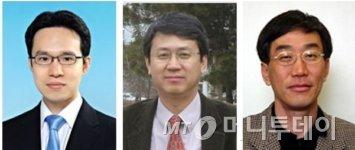 사진 왼쪽부터 신종화,김도경,이용희 교수./사진제공=KAIST
