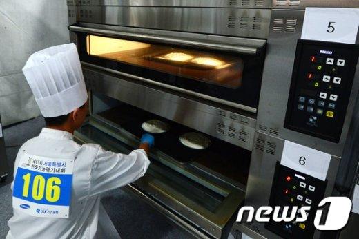 [사진]전국기능경기대회 제과제빵 부문