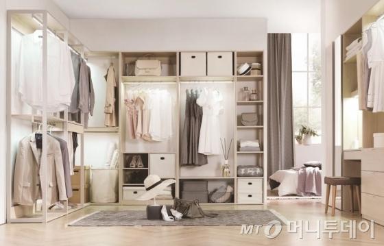 현대리바트 그리드 드레스룸