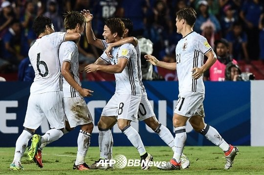 '하라구치 결승골' 일본, 태국 2-0 완파.. '첫 승 신고'