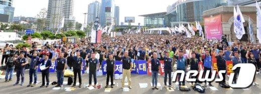 [사진]철도노종자 2차 총력 결의대회
