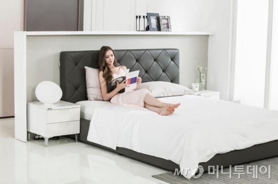 한샘, 가죽프레임 적용한 '럭스 침대' 선봬