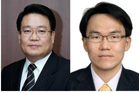 광운대 전자공학과 김은수 교수(좌)와 이지훈 교수