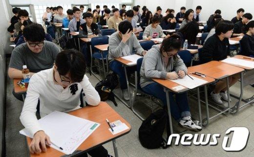 [사진]'2017학년도 대입 수시모집 논술고사'
