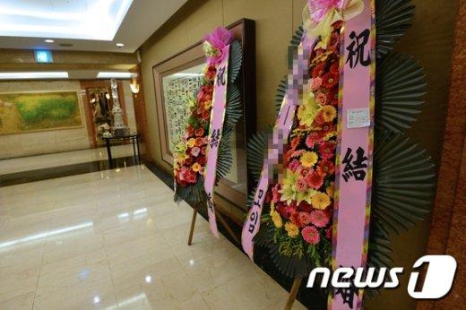 [사진]김영란법에 '휑한 호텔 결혼식장'