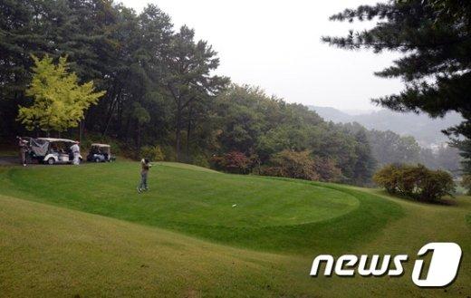 [사진]김영란법 이후 전국 골프장 예약률 감소