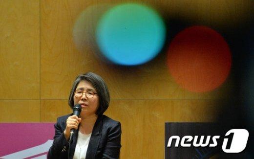[사진]김영란 전 대법관의 김영란법 얘기
