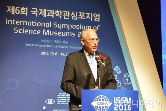 한스 마틴 힌즈 전 국제박물관협회장/사진=국립중앙과학관