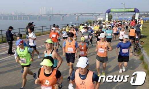 [사진]'독도수호 마라톤'