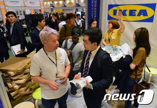 [사진]문전성시 이루는 외국계기업 채용박람회