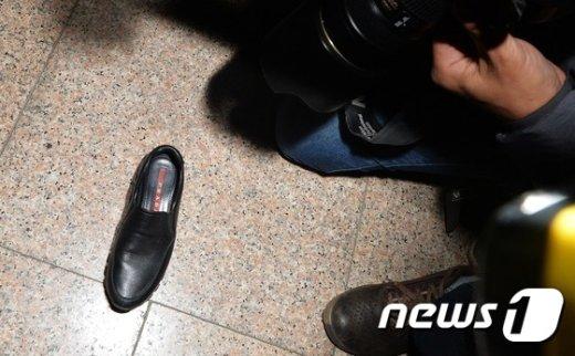 [사진]최순실이 놓고간 프라다 구두