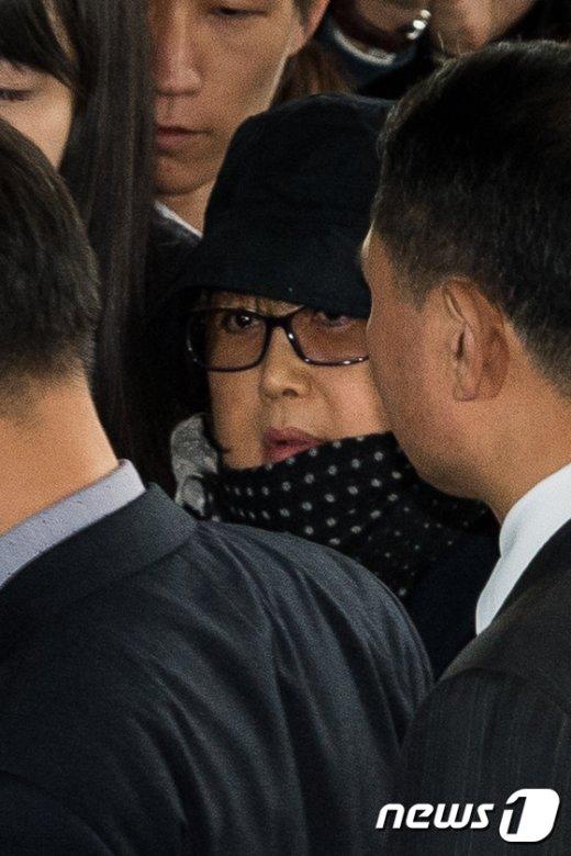 [사진]검찰 출석한 최순실