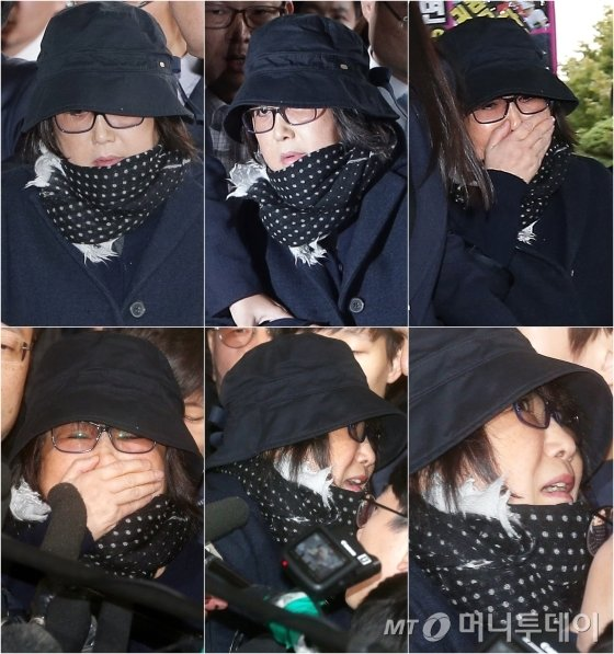 '비선실세' 의혹을 받고 있는 최순실씨가 피의자 신분으로 31일 검찰에 출석했다. 관련 의혹이 불거지고 독일로 출국한 지 58일 만, 영국에서 극비한 지 하루 만이다./사진=홍봉진, 김창현 기자