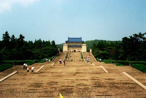 난징에 위치한 중산릉./사진=위키피디아