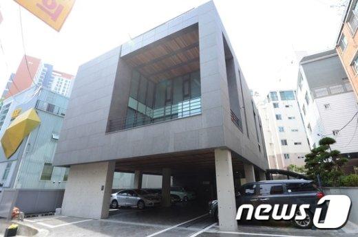 서울 강남구에 위치한 K스포츠 재단. 뉴스1 © News1 박지혜 기자