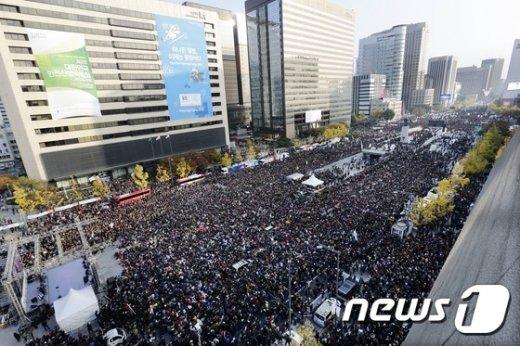 [사진]서울광장에서 광화문광장까지