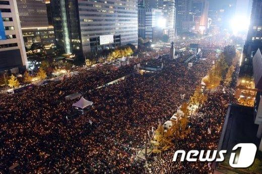 [사진]'광화문 촛불 집회'