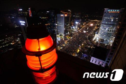 [사진]광화문 '성난 민심'