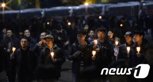 [사진]'촛불 행진'