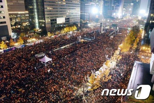 [사진]촛불 든 100만 인파