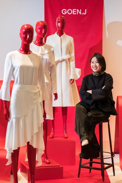 제12회 SFDF 수상자 '고엔제이' 정고운 디자이너/사진제공=삼성물산 패션부문