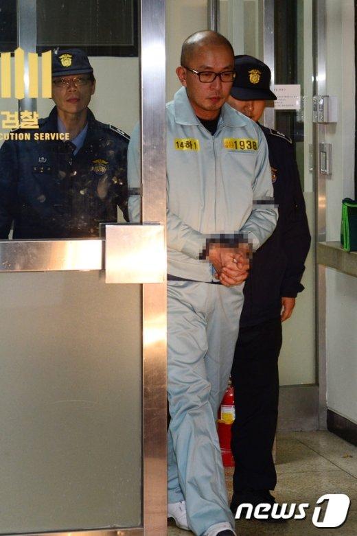 [사진]차은택, 검찰 조사 받고 구치소로 이송