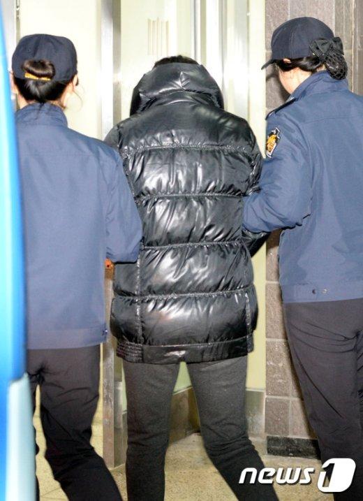 [사진]검찰 조사 받으러 가는 장시호