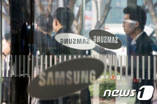 [사진]삼성 미래전략실 압수수색 중