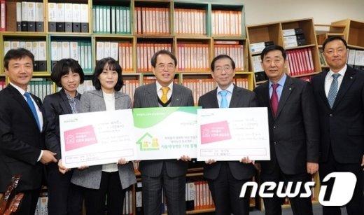 [사진]박원순 서울시장, 아동학대예방 서명릴레이 동참