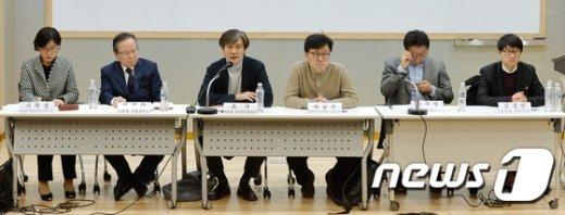 [사진]서울대 교수-학생 시국토론회