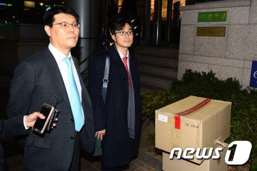 [사진]'김영재 의원 조사 하는 특검'