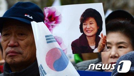 [사진]헌재 앞 보수집회
