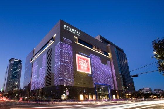 현대백화점 무역센터점 외관