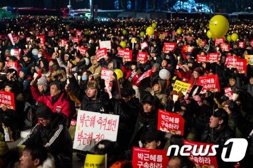 [사진]'박근혜 대통령 내려와라' 광장의 외침