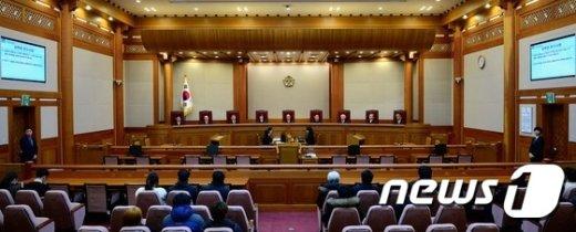 [사진]선고 앞둔 헌재