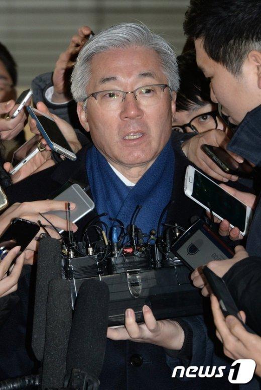 [사진]김종덕 전 장관, '블랙리스트 의혹' 진실은?