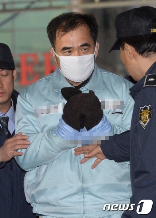 [사진]김종, 네번째 특검 소환