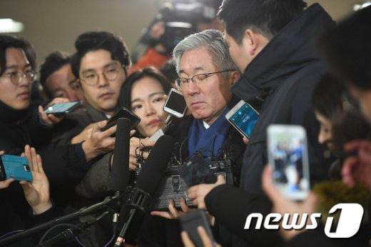 [사진]눈 감은 김종덕