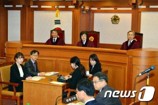 [사진]박근혜 대통령 탄핵심판 3차준비기일