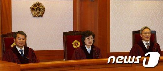 [사진]헌재, '朴대통령 탄핵심판 마지막 준비절차기일'