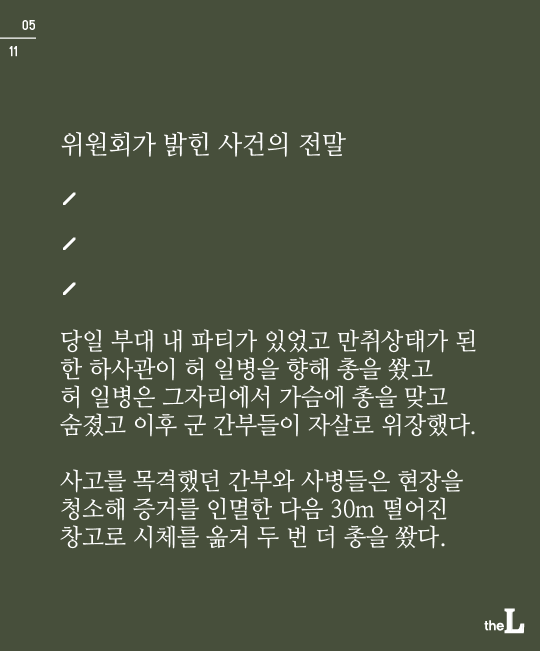 [카드뉴스] 32년전 허 일병 사건, 결국 미제로 남다