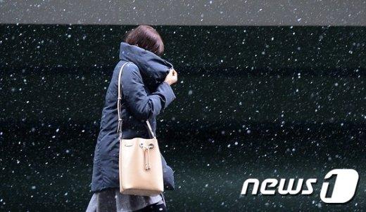 [사진]'눈이 오네'