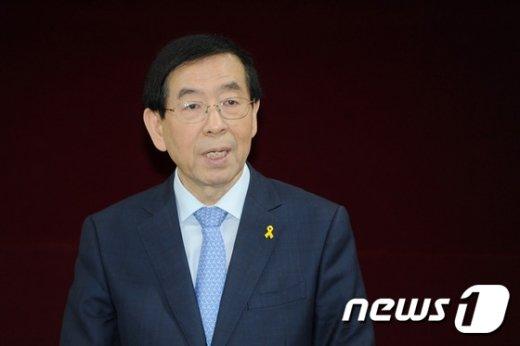 박원순 서울시장. /뉴스1 © News1