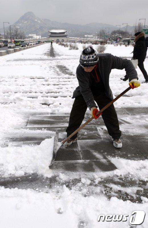[사진]'눈이 많이도 쌓였네'