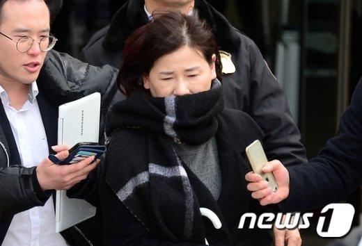 [사진]영장심사 마친 '정유라 특혜의혹' 이인성 교수